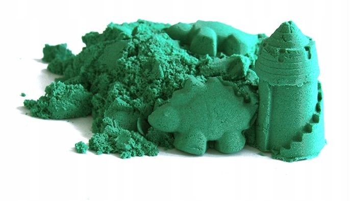 Dla dzieci ColourSand Mokry piasek zielony Polski