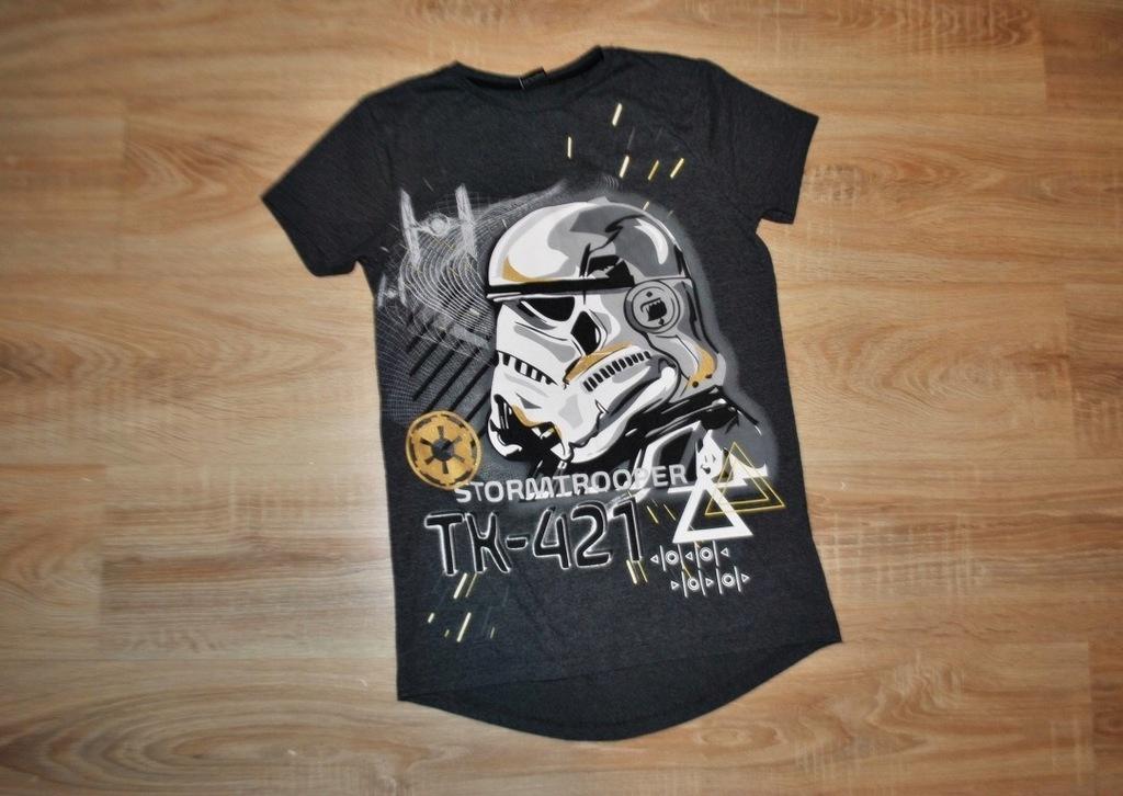 REBEL świetna koszulka STAR WARS 158 BDB