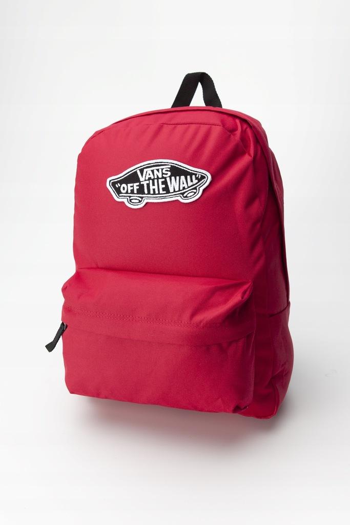 Plecak Vans REALM BACKPACK SQ2 CERISE VN0A3UI6SQ21