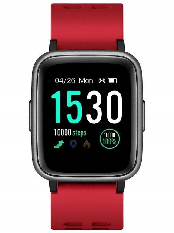 SMARTWATCH Jordan Kerr Active - red (zj990c) Dotyk