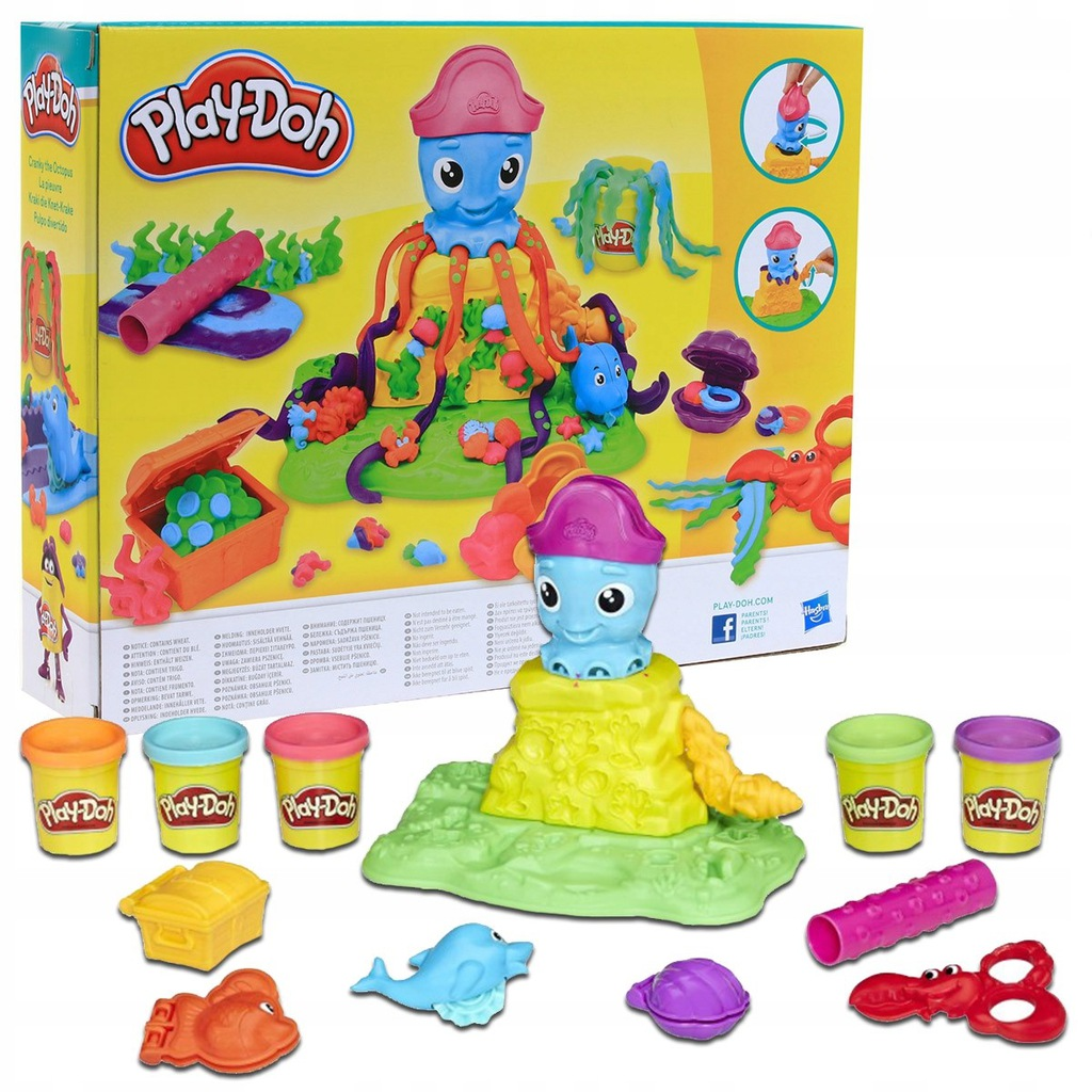 Fabryka Fun Factory Deluxe Set Ciastolina Play Doh 10006106681 Oficjalne Archiwum Allegro