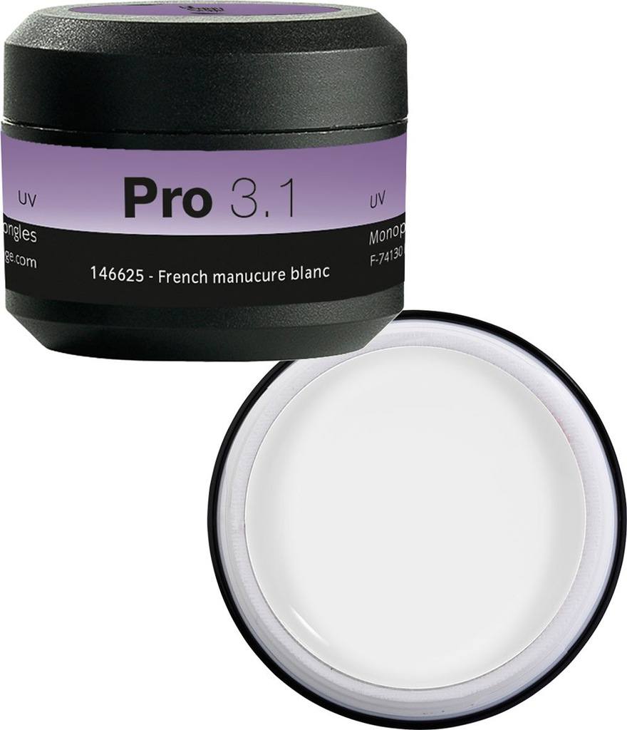 PEGGY SAGE Pro 3.1 Żel UV LED manicure blanc