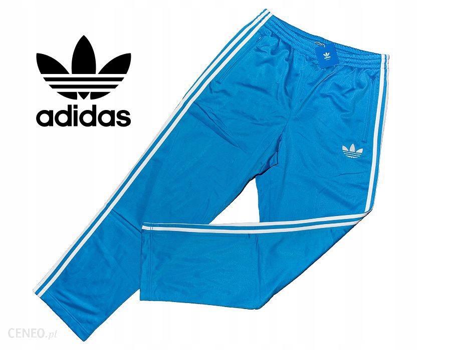 Adidas Orginals oldschool blue spodnie firebird