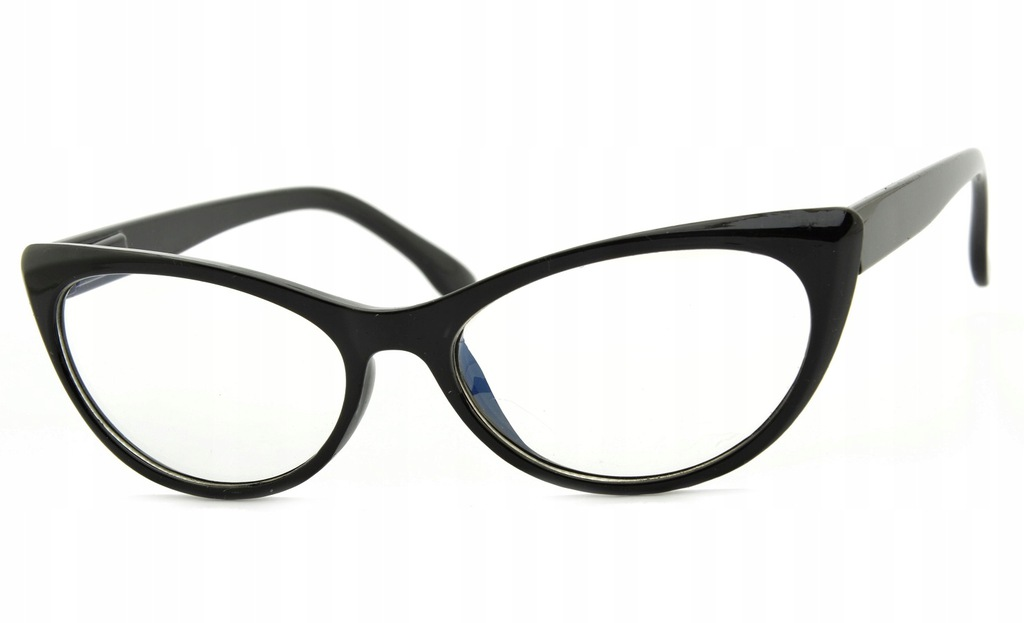 KOCIE OCZY ZERÓWKI okulary ANTYREFLEKS KUJONKI