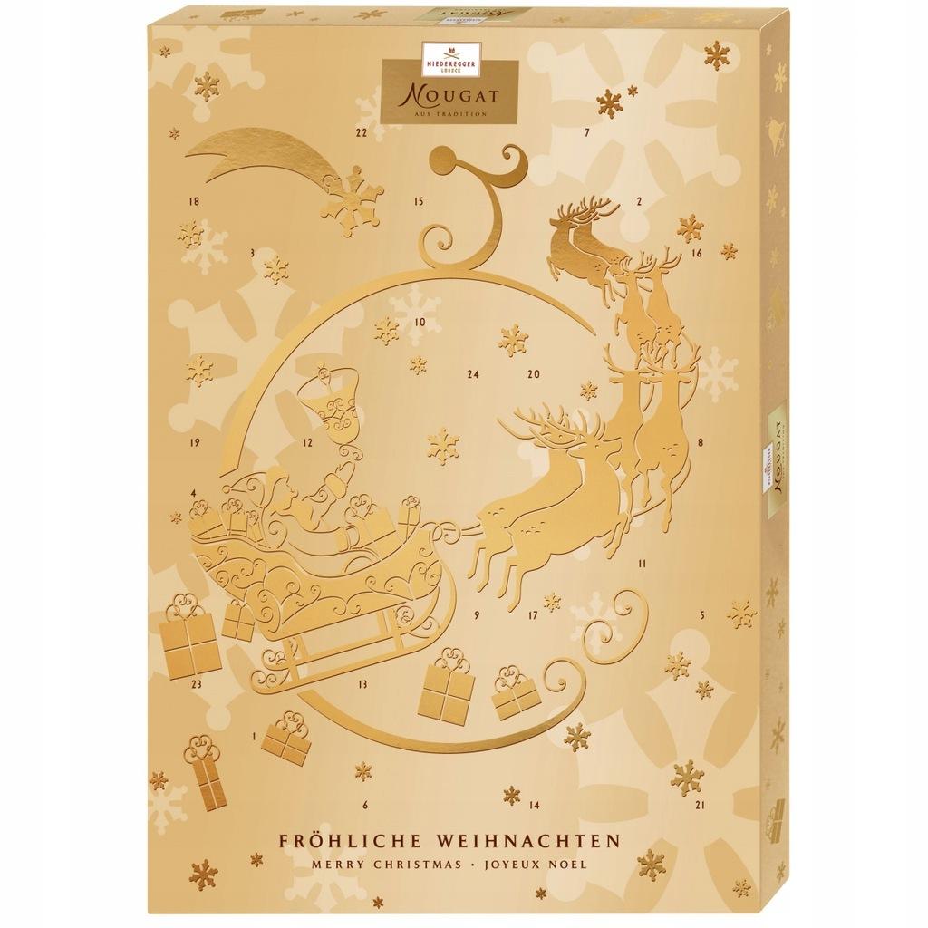 Niederegger Kalendarz Adwentowy Nugat Gold Przysma 8561878749 Oficjalne Archiwum Allegro