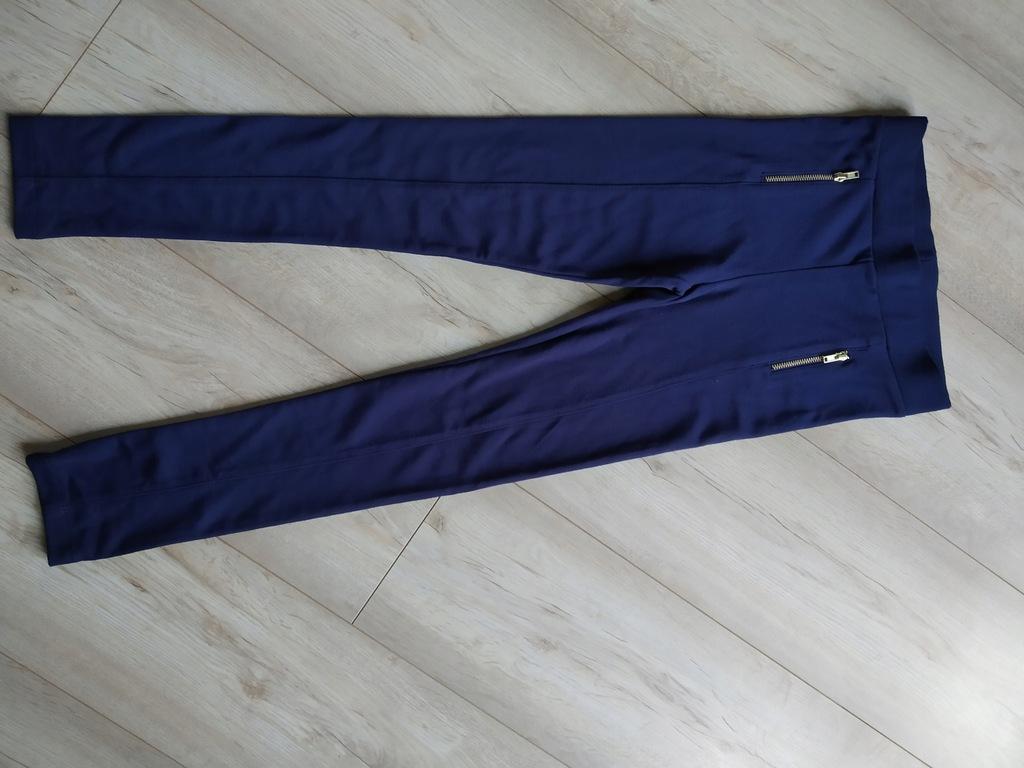 legginsy getry spodnie zamki 140 146 H&M