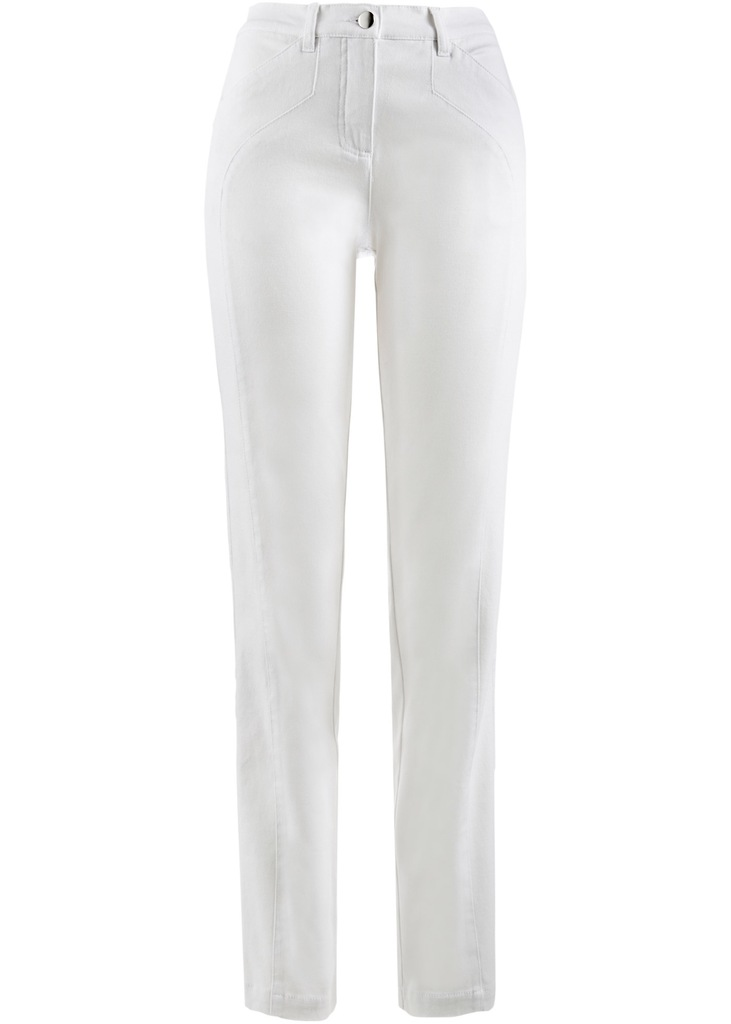 D389 BPC Wygodne spodnie STRETCH 42 pas: 90-96 cm