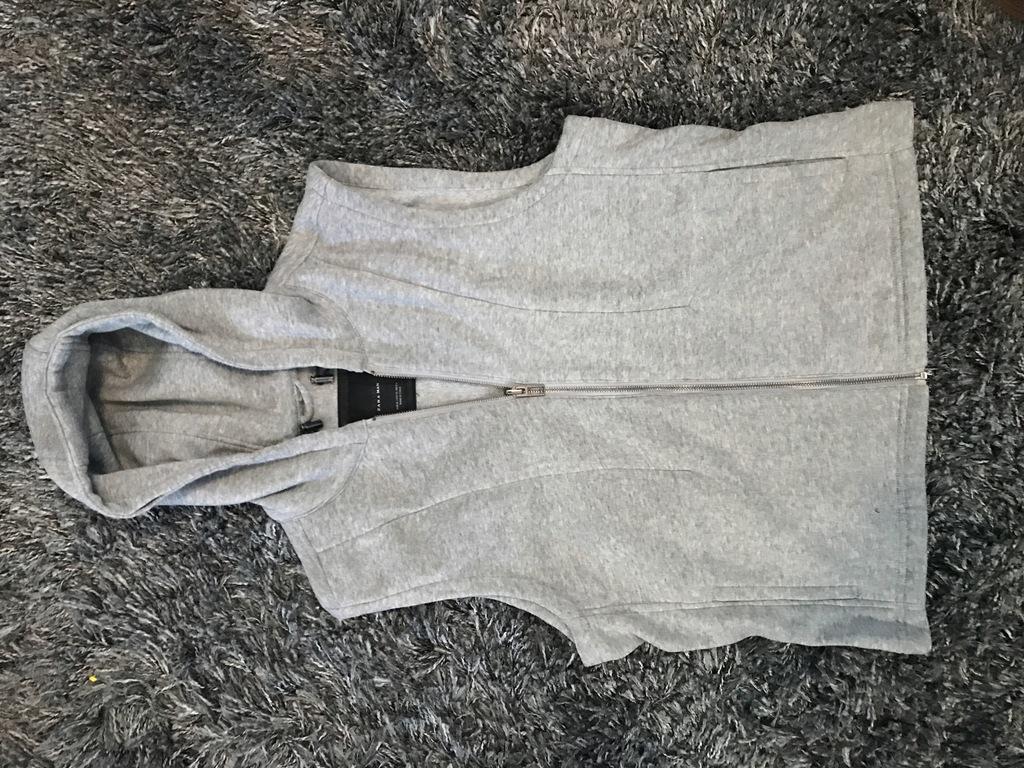 Kamizelka Szara Zara XL
