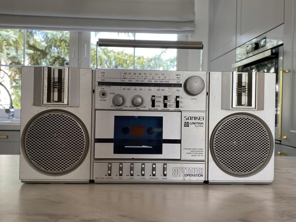 Radio UNITRA eltra SANKEI sprawne