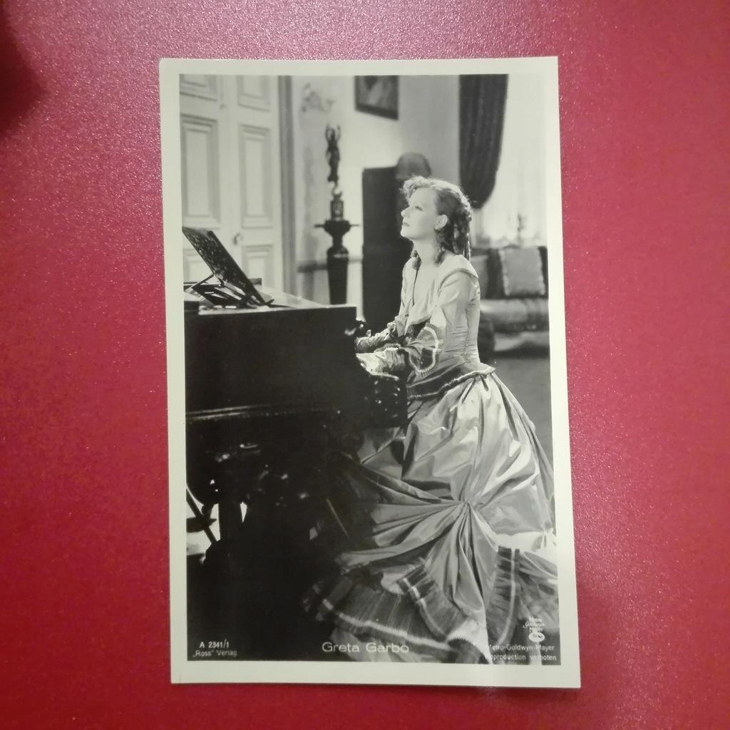 Greta Garbo Kino Film Aktorka Foto Pocztówka 1