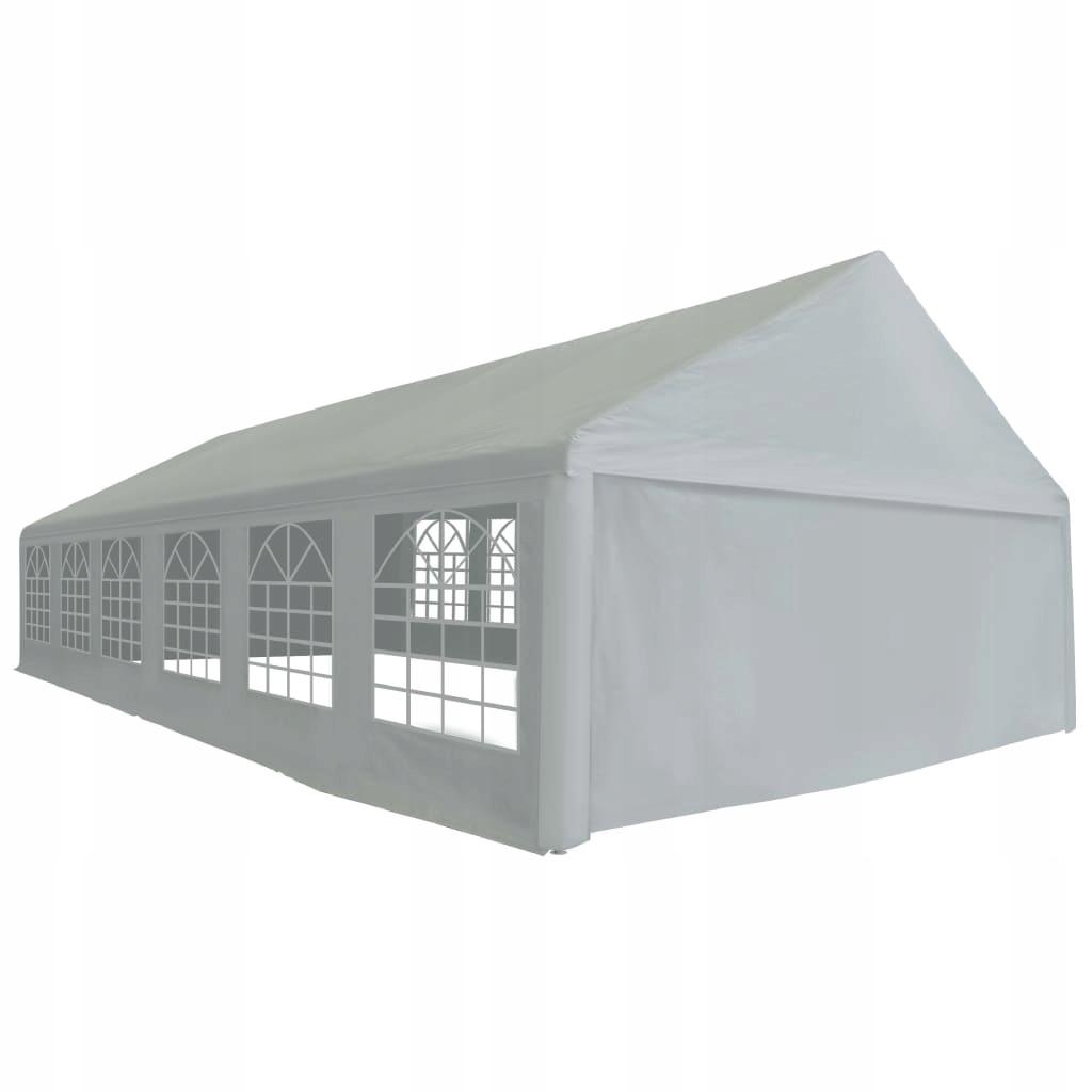 Namiot imprezowy z PE, 6 x 12 m, szary