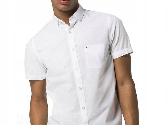 Koszula Tommy Hilfiger Slim Fit Biała