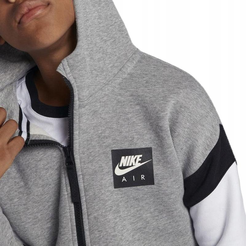 Nike JR Air Hoodie FZ Bluza 063
