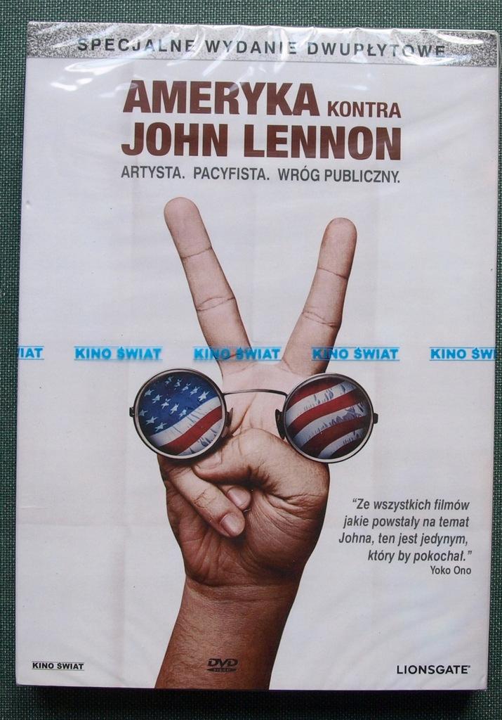 Ameryka kontra John Lennon DVD Folia