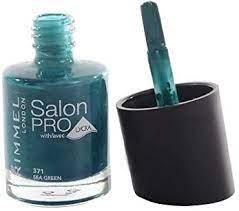 RIMMEL LAKIER SALON PRO LYCRA 371 Sea green 12 ml