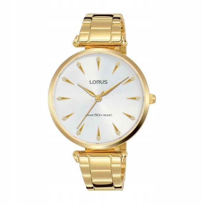 Zegarek damski LORUS Złoty RG240PX9 WYPRZEDAŻ