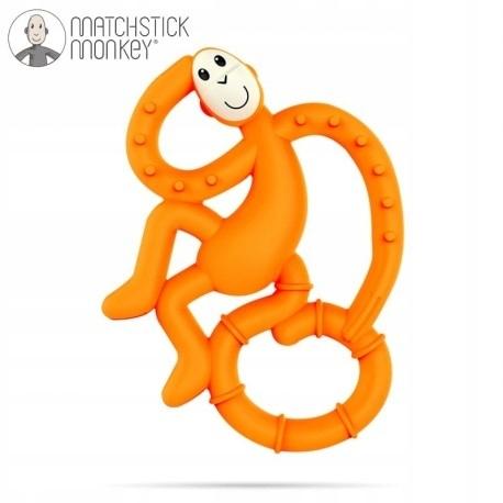 Matchstick Mini Monkey Orange Gryzak Masujący, Mat
