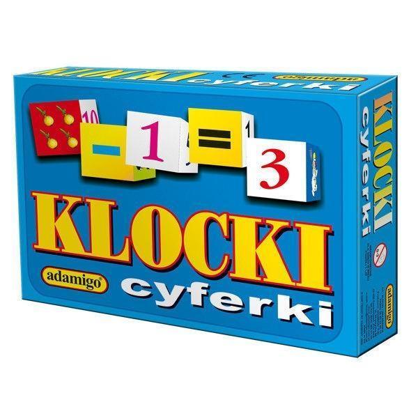 KLOCKI - CYFERKI, ADAMIGO