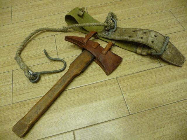 Stary toporek strażacki