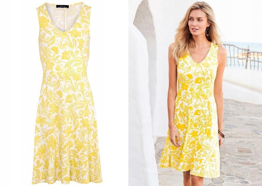KALEIDOSKOPE kobieca sukienka wiosna lato 46
