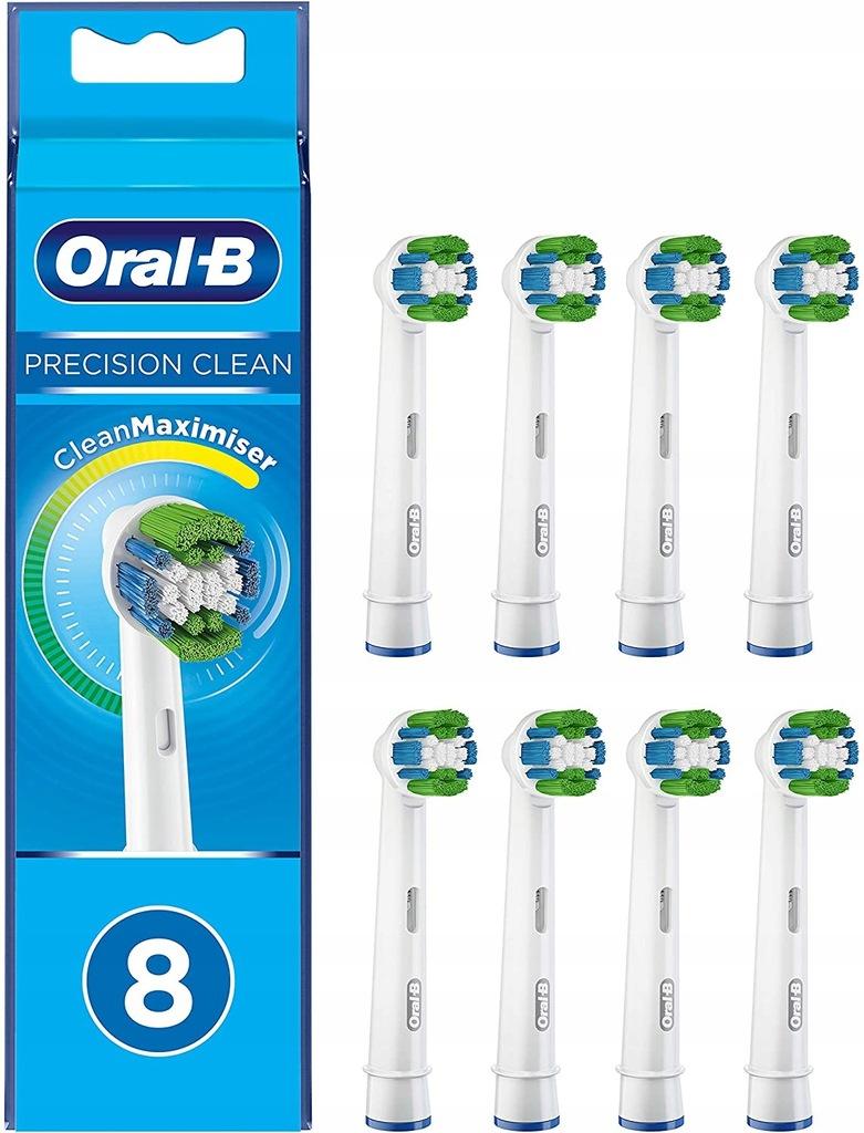 Oral-B Precision Clean koncówki 8 szt