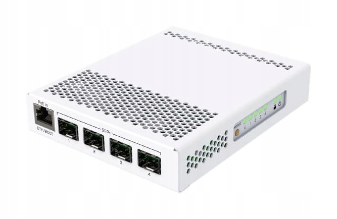 MIKROTIK CRS305-1G-4S+IN CLOUD ROUTER SWITCH 4X SF