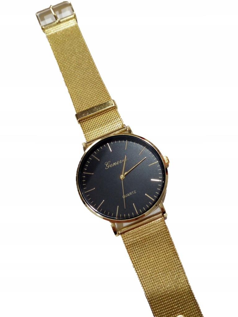 zegarek damski GENEVA kolor złoty WYPRZEDAŻ !