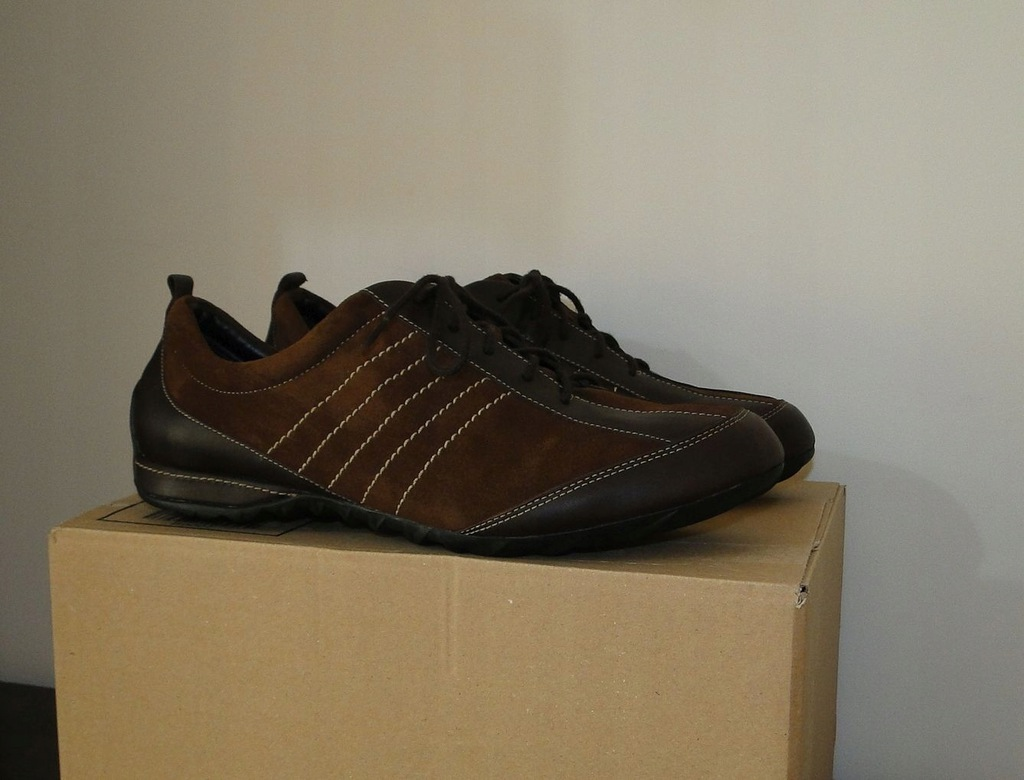 Buty ECCO Brown Summer Low Biom Leather / 40