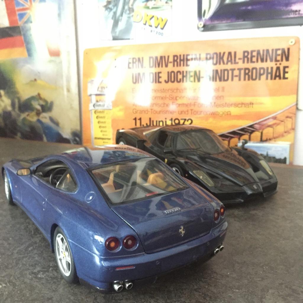 Ferrari 612 Scaglietti Skala 1 18 Hot Wheels 8385790878 Oficjalne Archiwum Allegro