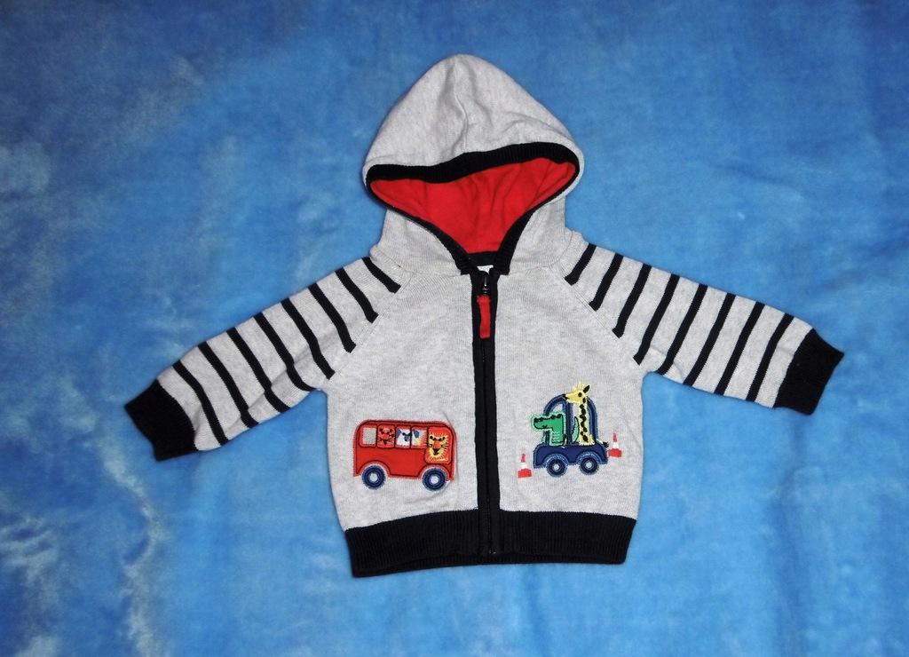 Sweter chłopiec roz 62 cm ( 0-3 m-cy )