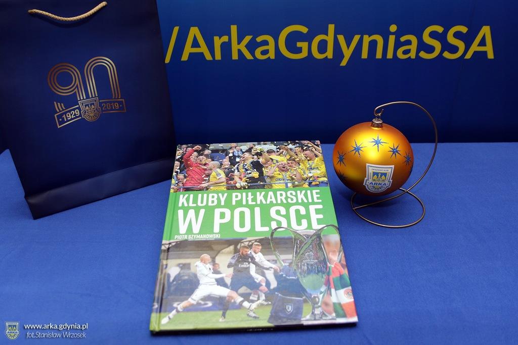 Arka Gdynia Album Kluby Piłkarskie i bombka!