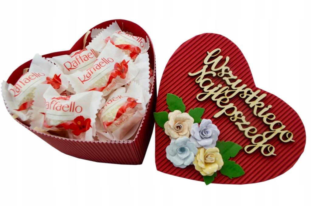 Serce Słodyczy Raffaello Prezent Dzień Kobiet Box