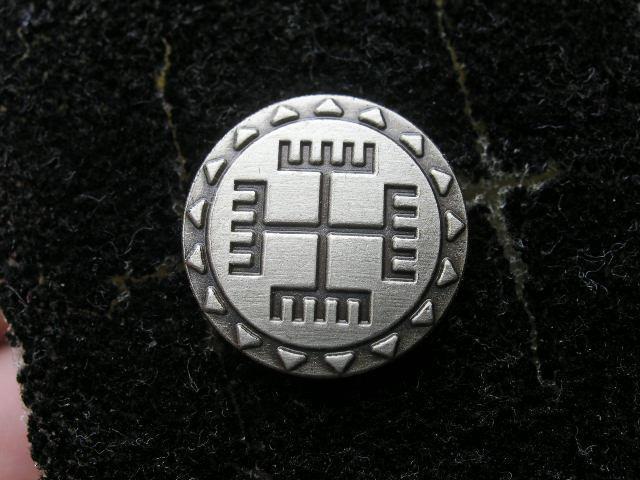 Ręce Boga - rodzimowierczy znaczek amulet talizman