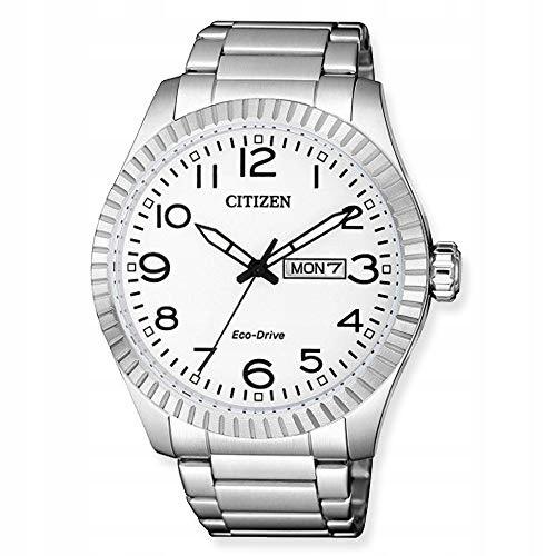 Citizen BM8530-89AE Zegarek męski Srebrny