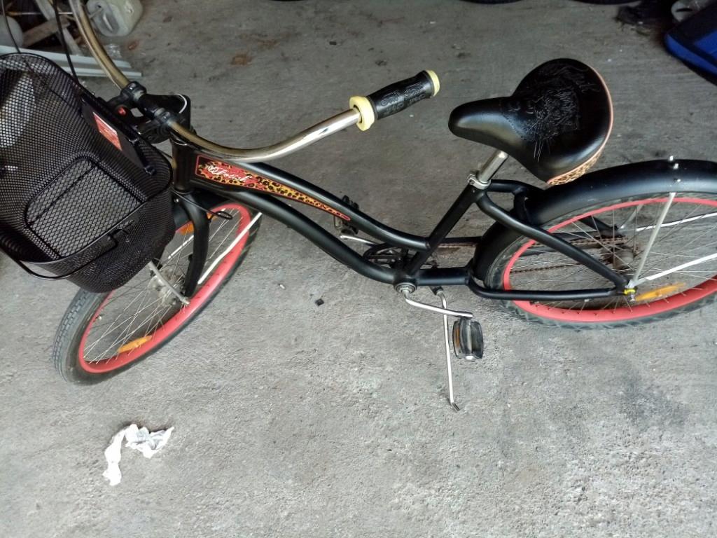 Piękny damski rower miejski na kołach 26 cali! Alu