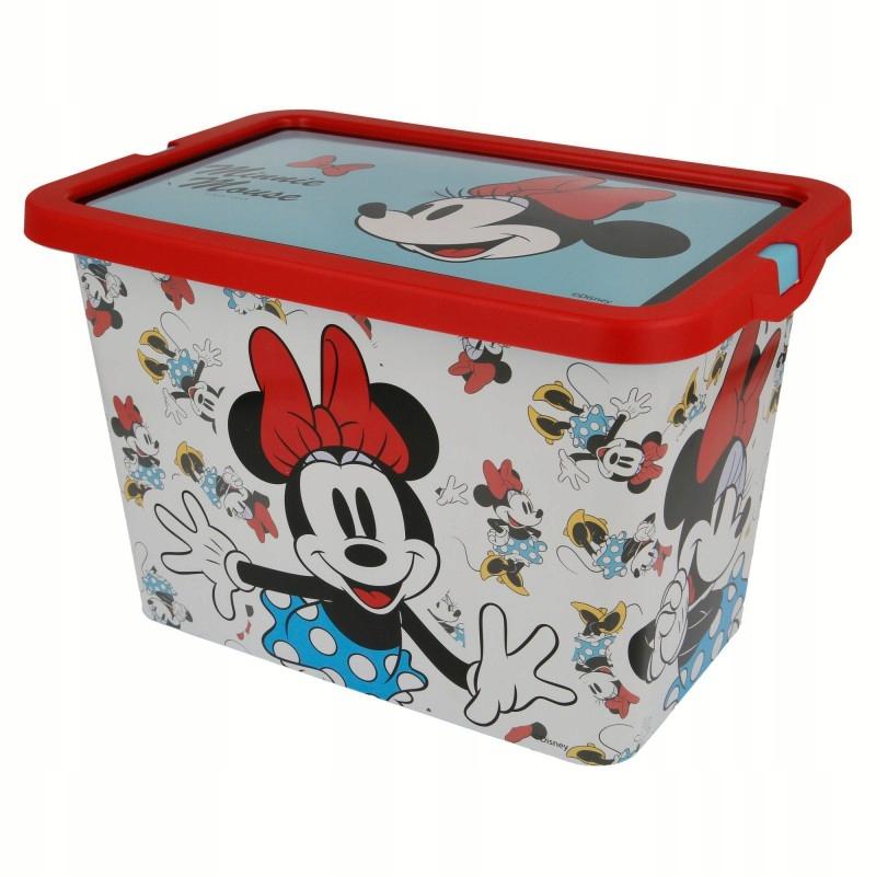 Minnie Mouse - Pojemnik / organizer na zabawki 7 L