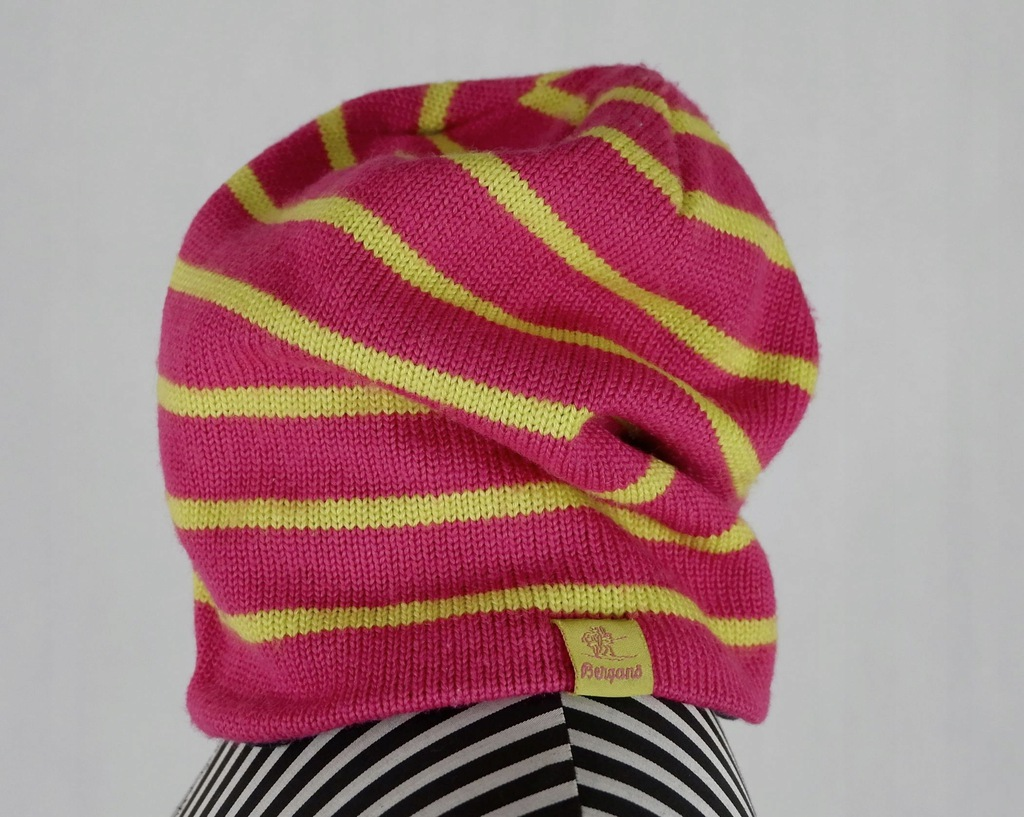 BERGANS 6282 Rim Youth Beanie czapka wełna idealna