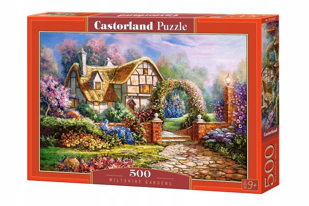 Puzzle 500 el. Willtshire Gardens