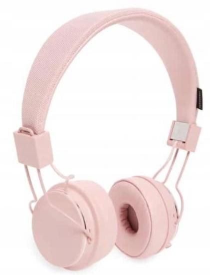 Różowe słuchawki nauszne Urbanears 2 wejścia