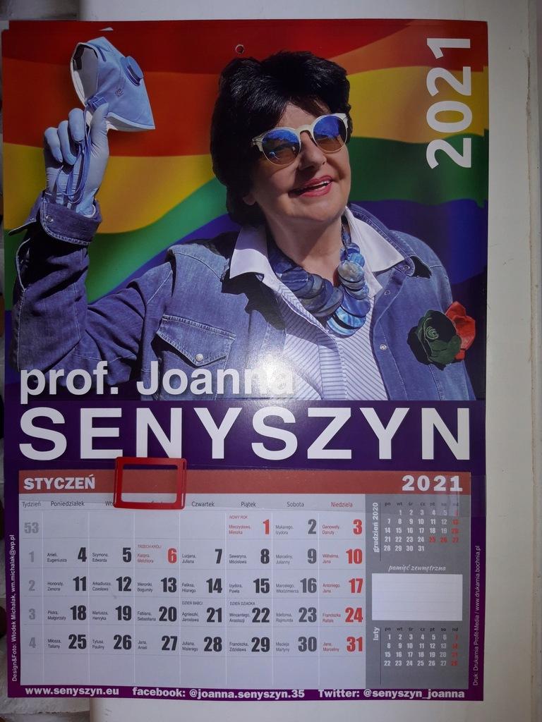 Kalendarz od profesor Joanny Senyszyn