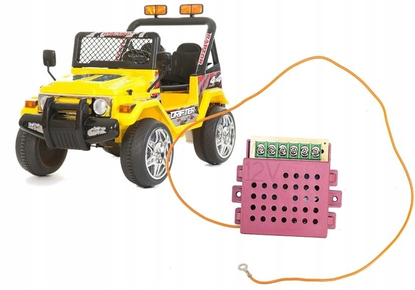 Moduł Centralka 12V Jeep Raptor Auto na Akumulator