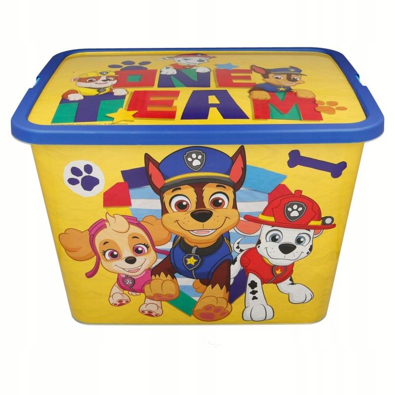 Paw Patrol - Pojemnik / organizer na zabawki 23 L