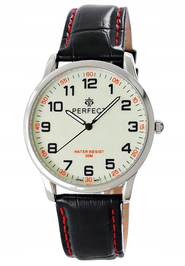 Zegarek Męski PERFECT C417-N Fluorescencja