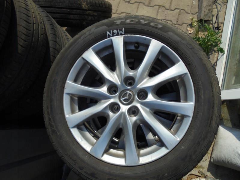 Kola Felgi Opony 225 55 R17 Mazda6 Mazda 6 13 15 7561375964 Oficjalne Archiwum Allegro