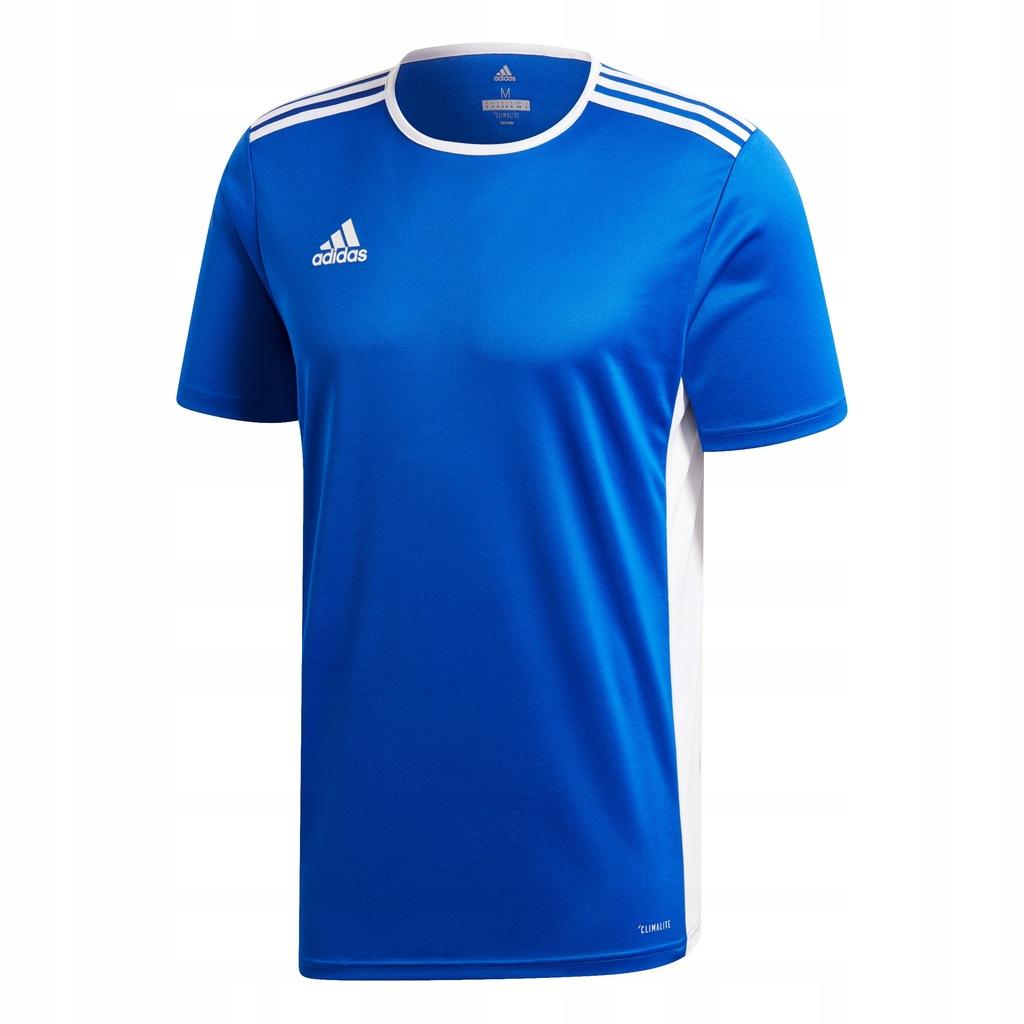 Koszulka Adidas Entrada 18 junior niebieska r. 152