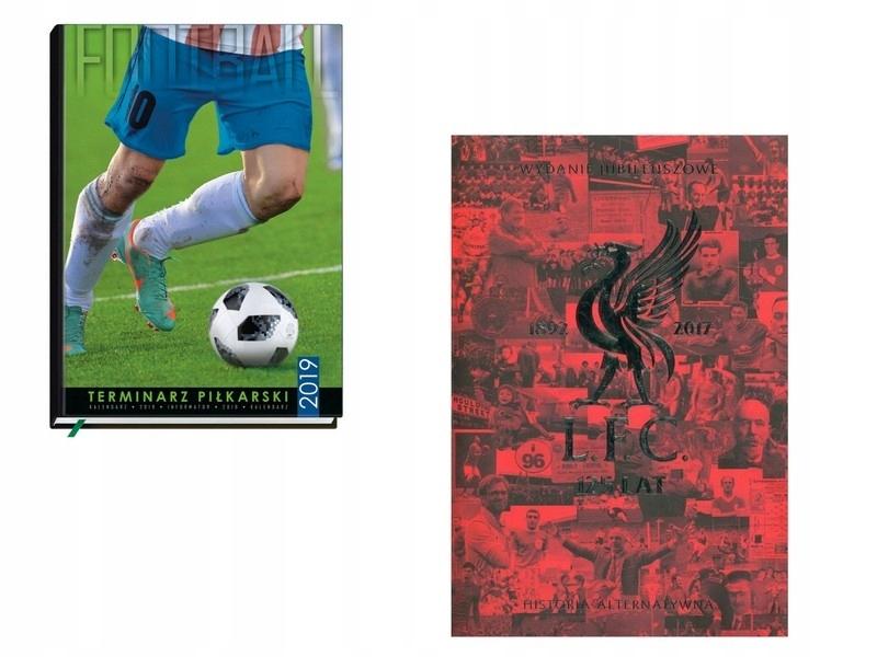 TERMINARZ PIŁKARSKI 2019+ Liverpool FC 125 lat His