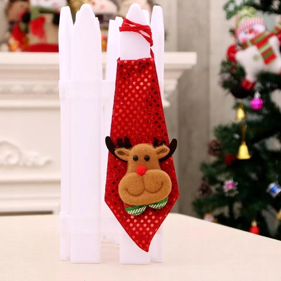 Krawat na gumce Renifer