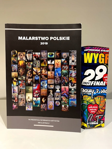Malarstwo Polskie 2019- autograf Jurka Owsiaka