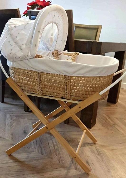 Kosz Mojżesza łóżeczko niemowlęce ze stojakiem