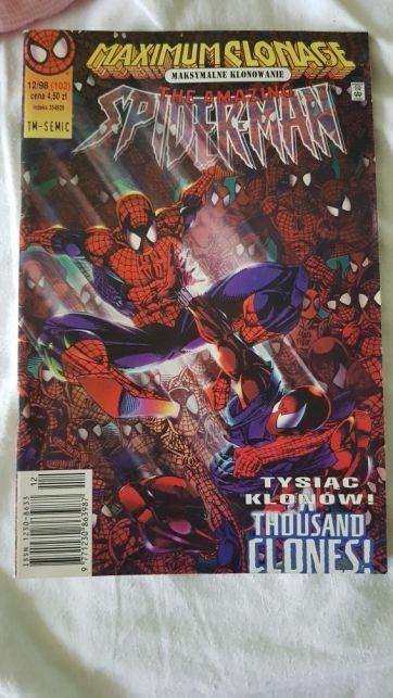 Spider-man 12/98 tm-semic bardzo rzadki numer